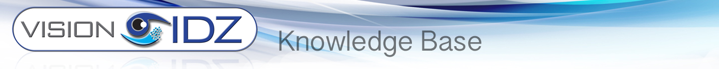 Vision IDZ Knowledge base
